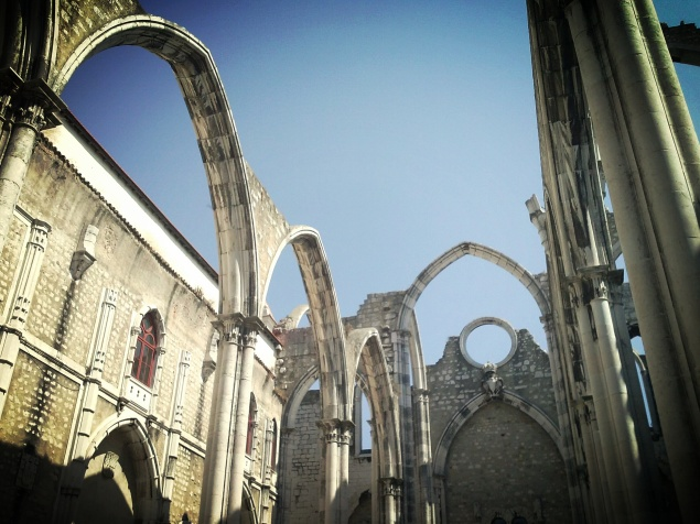 Convento do Carmo (destroyed by the worst earthquake ever seen in Portugal - 1755)
